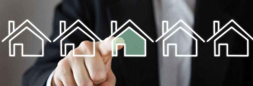 Une néo agence immobilière