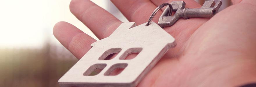 Remise des clés d'un appartement vendu entre particuliers